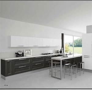 cucina moderna grigio meridiens con penisola open snack con colonna forno Cucine a prezzi scontati