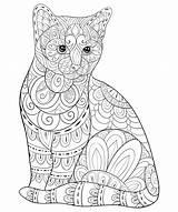 Adulti Malbuch Bookpage Kitty Justcolor Volwassen Ontspannen Kleurende Zenkunst Stijlillustratie Boek Coloriages Impagina Sveglio Rilassarsi Nonuzza Kolorowanki Druku 3ab561 Getbutton sketch template