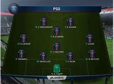 FIFA 16 Beste Aufstellung für PSG Tipps & Tricks kicker