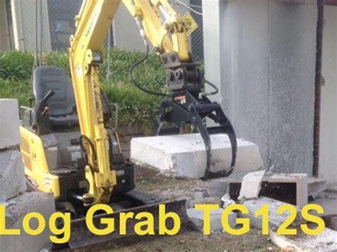 excavator log grapples log grapples  excavators