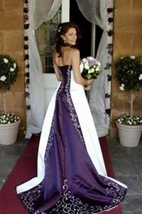 wedding dresses with purple accents uxix dresses trend With wedding dress with purple accents