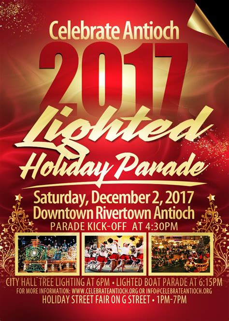 lighted holiday parades and more in antioch s historic downtown rivertown today antioch herald