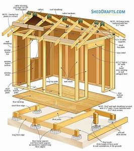 6 U00d78 Gable Roof Shed Plans Blueprints For Timber Potting Shed
