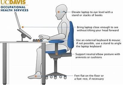 Laptop Ergonomics Setup Posture Ergonomic Computer Office