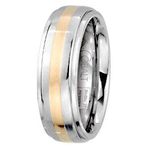 sk cobalt two tone unity collection men s band men s rings pinterest engagement rings