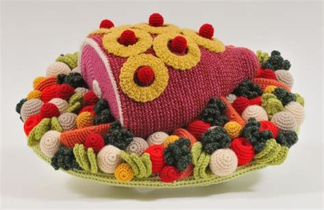 crochet cuisine feast your on this glorious crocheted food gastro obscura