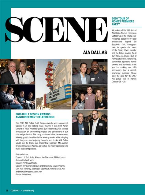 We provide customized insurance products. Winter 2017 issue - AIA Dallas 'Columns' magazine by AIA Dallas - Issuu