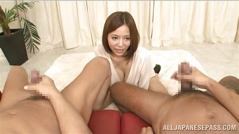 Ruri Saijoh In Big Breasted Japanese Cutie Loves To Watch