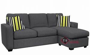 quick ship 702 fabric chaise sectional in jitterbug gray With the stanton 702 chaise sectional sleeper sofa queen