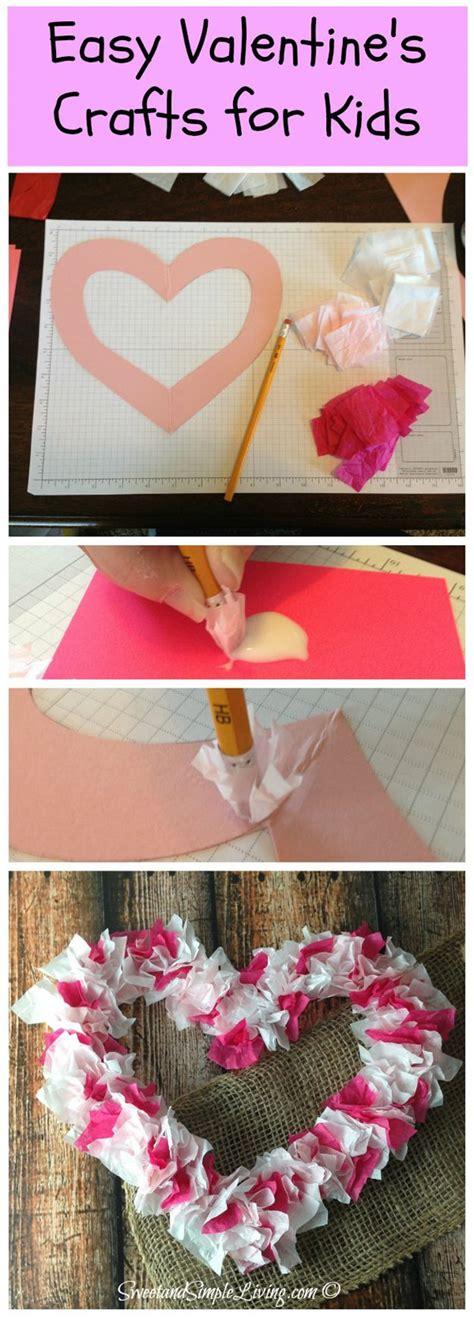 homemade valentine crafts  kids   diy ready