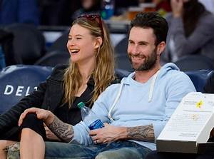Adam Levine and Behati Prinsloo Pack on the PDA at L.A ...