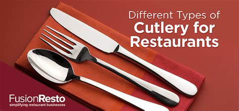 Different Types Of Cutlery For Restaurants