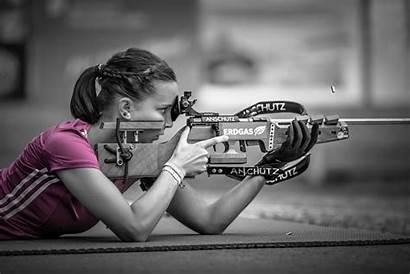 Shooting Sniper Pink Sports Selective Wallpapers Gun