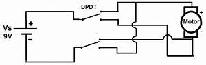 How Is A Dpdt Switch Used For Reversing The Motion Of An