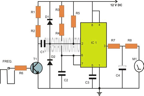 Based Capacitance Meter Circuit Homemade