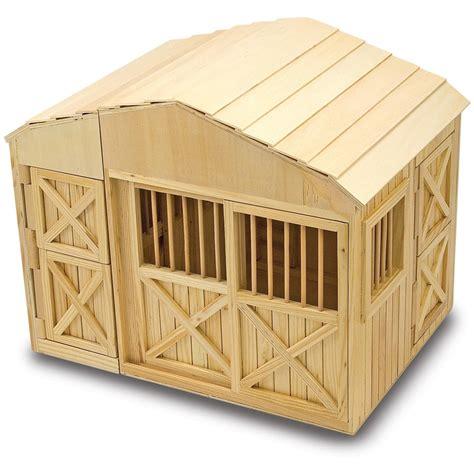 and doug barn and doug 174 folding stable 147110 toys at