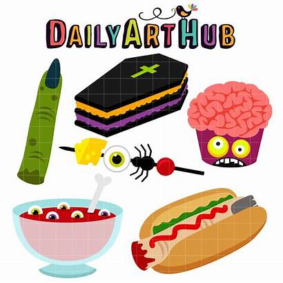 Halloween Party Clip Foods Everyday Hub Holidays