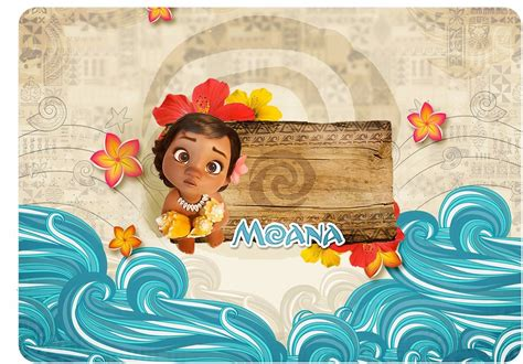kit festa personalizado moana baby varios temas