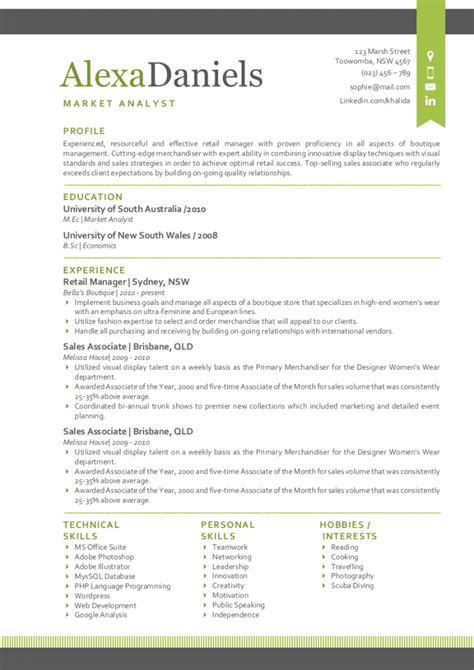 Resume Template Modern by The Best Modern Resume Templates For 2016