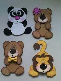 decorado con patrones osos ideas para decorar carpetas o folders carpeta moldes