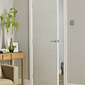 Internal Bifold Doors White Comfortable Home Design