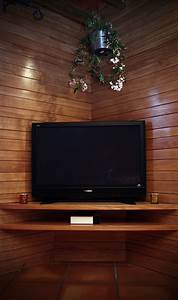 Etagere Murale Tv : etagere d 39 angle tv ~ Teatrodelosmanantiales.com Idées de Décoration