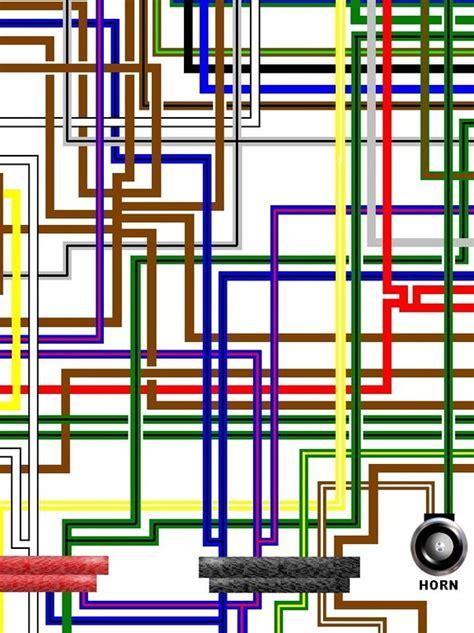 bmw r45 r65 1981 cdi colour motorcycle wiring loom diagram