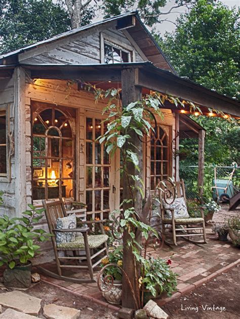 Diy Yard Shed by S Garden Shed Revealed Living Vintage