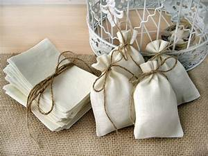set of 10 eco rustic linen wedding favor bag or gift bag With gift bags for weddings