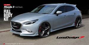 Mazda 3 Bm 2017 Body Kit    Hatchback  U0026 Sedan