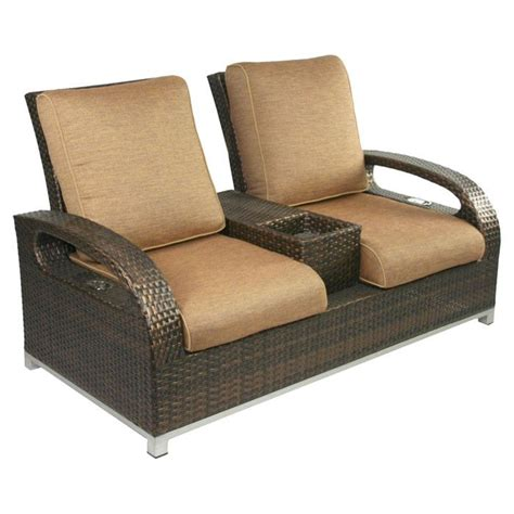 Outdoor Reclining Loveseat by Digging This Reclining Loveseat Want Need In