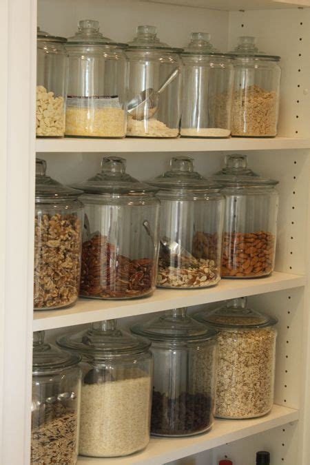 glass kitchen storage jars 12 easy kitchen organization tips with pictures glass 3801