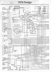 15  1976 D100 Dodge Truck Wiring Diagram -