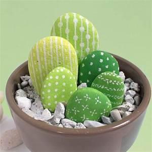 Galet De Decoration : galets peinture un cactus qui ne pique pas tuto ~ Premium-room.com Idées de Décoration