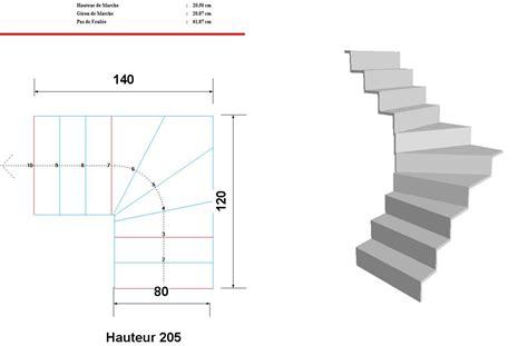 calcul escalier quart tournant haut aide au calcul de mon escalier quart tournant bas svp 13 messages