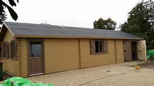 Garage Bois 40m2 : garage en bois ~ Melissatoandfro.com Idées de Décoration