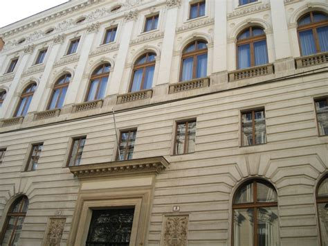 Bankgebaeude In Wien by Ehemalige 214 Sterreichische L 228 Nderbank Bezienswaardigheden