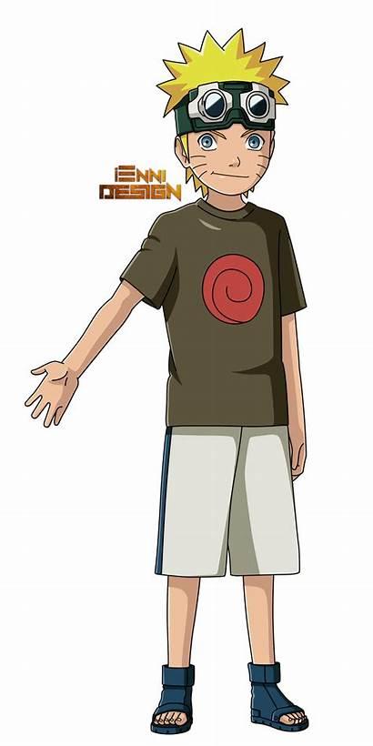 Naruto Shippuden Childhood Uzumaki Iennidesign Anime Sasuke