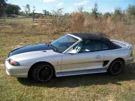 Buy Used Custom 1996 Ford Mustang Silver Metal Flake Paint
