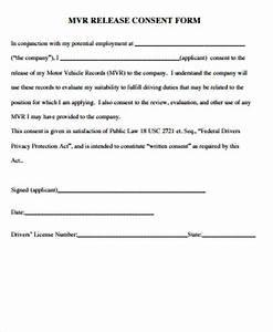 Sample Release Form