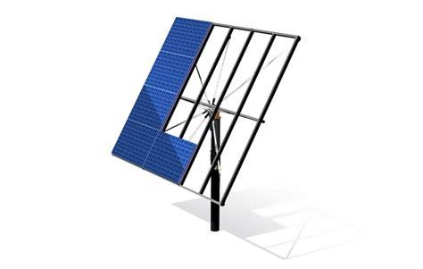 Структура солнечных модулей и системы слежения за солнцем