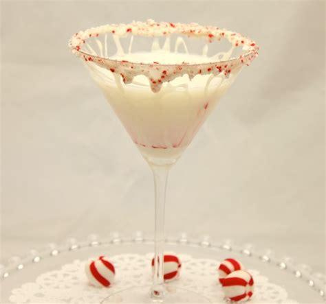 christmas martinis christmas cocktails white chocolate peppermint martini