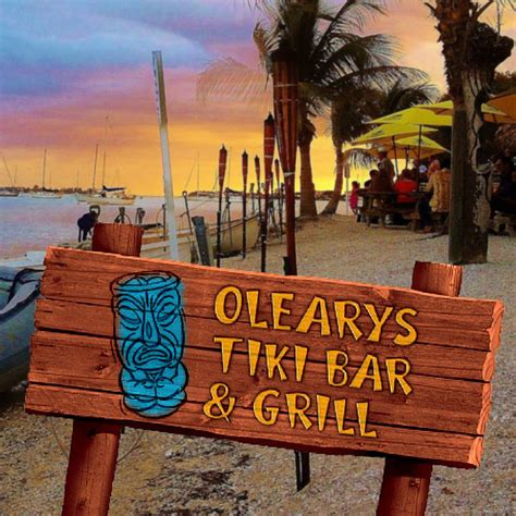 Tiki Bar Bradenton by Oleary S Tiki Bar Grill Bar Restaurant Sarasota