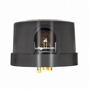 Precision Lumatrol Photo Control P2275 120vac 1800 Va Delayed Response Nema Twist Locking Dusk
