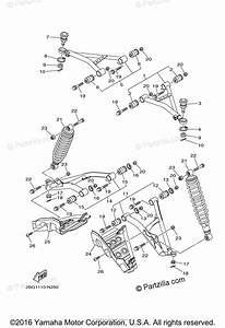 Yamaha Atv 2014 Oem Parts Diagram For Front Suspension