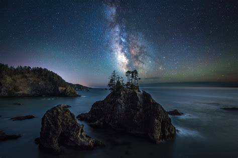 The Milky Way Shines Bright Samuel Boardman State