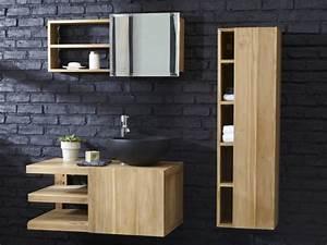 12 beaux meubles sous vasque en bois joli place With meuble vasque