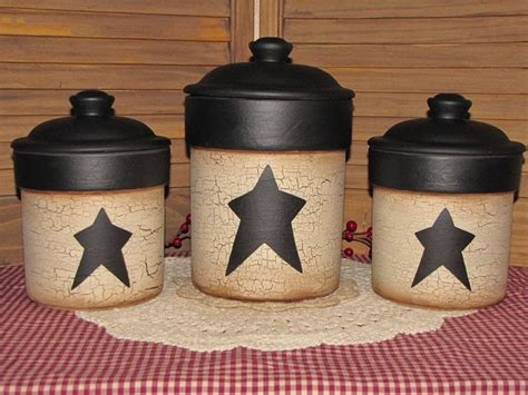 primitive kitchen canisters 1000 ideas about primitive canisters on