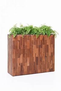 Raumteiler Aus Holz : pflanzk bel raumteiler elemento aus holz akazie 75x90x30 ~ Indierocktalk.com Haus und Dekorationen