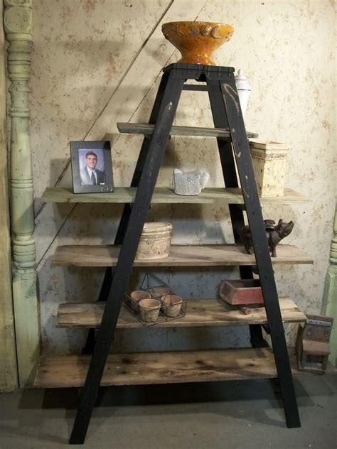 Decorative Ladder Shelf & A Frame Wooden Shelf